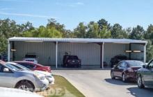 commercial steel building auto wash bay