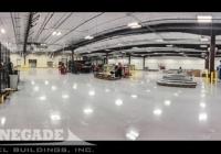 238x169x18 industrial steel building interior