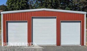 Red 40x50x16 Renegade Steel Building