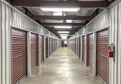 Self Storage Mini Steel Building climate controlled interior hallway