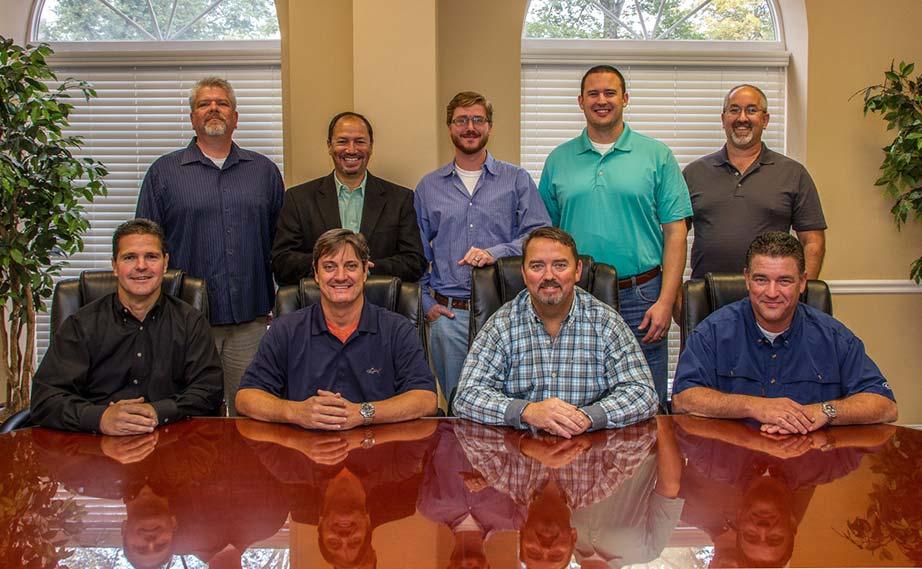 Renegade steel buildings office staff group photo