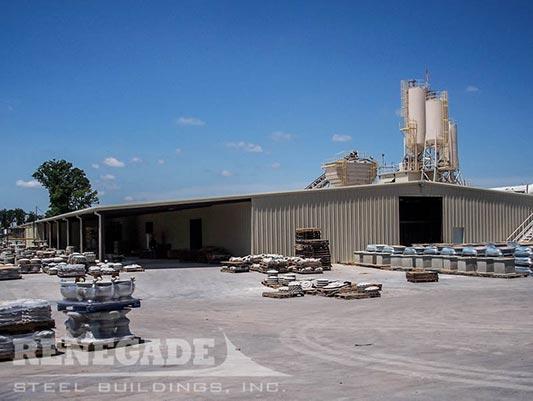 metal building industrial warehouse