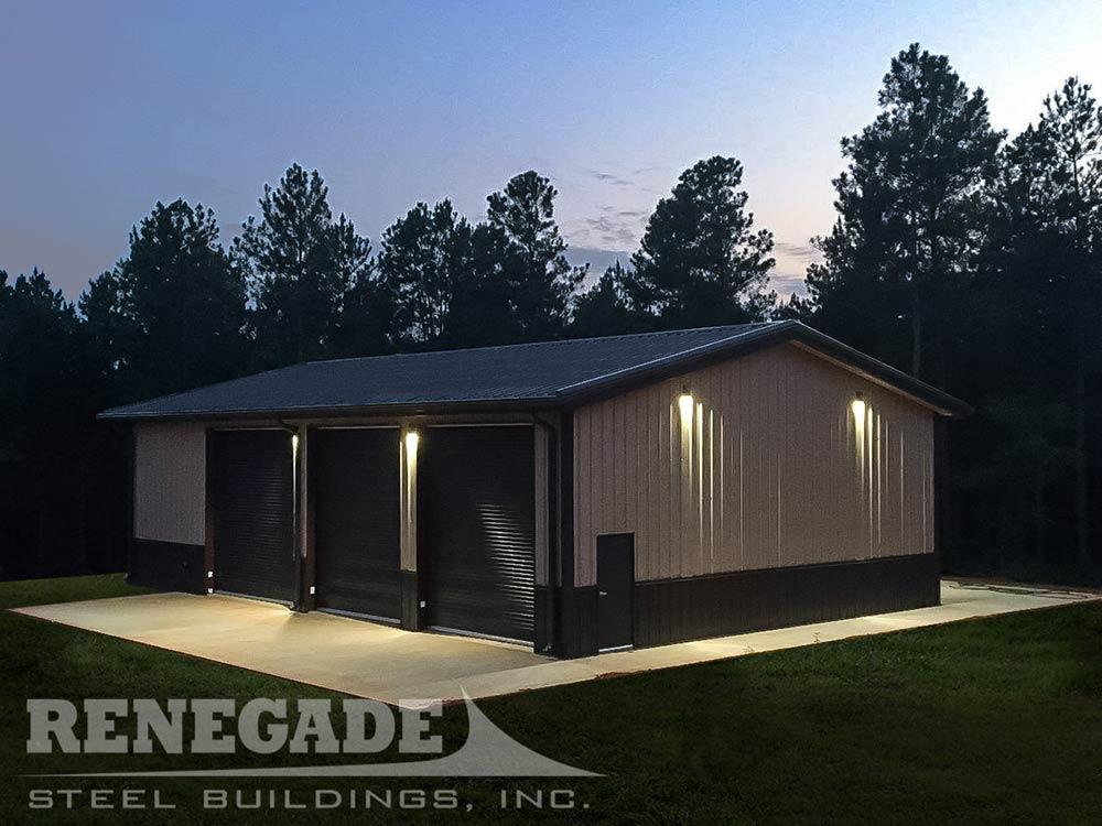 40x60 Metal Building | 40x60 Steel Building | Renegade Steel Buildings