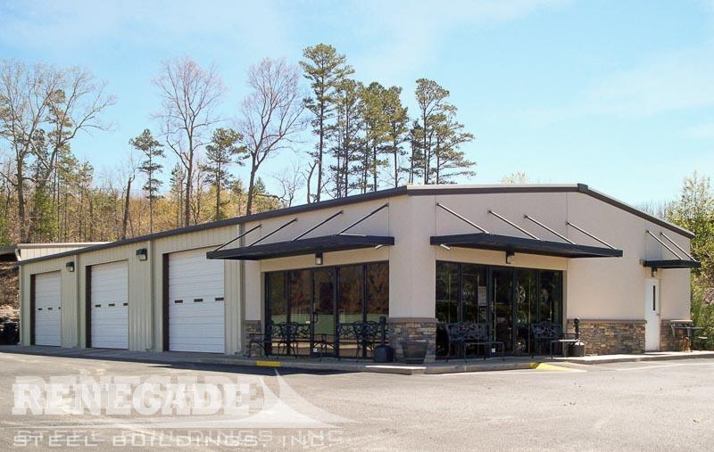 Steel Building Auto Service Center