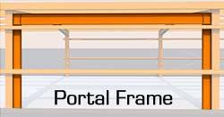 steel building portal frame