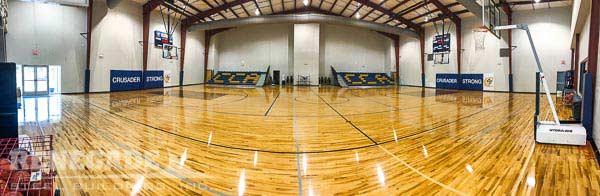 christian school steel building gym