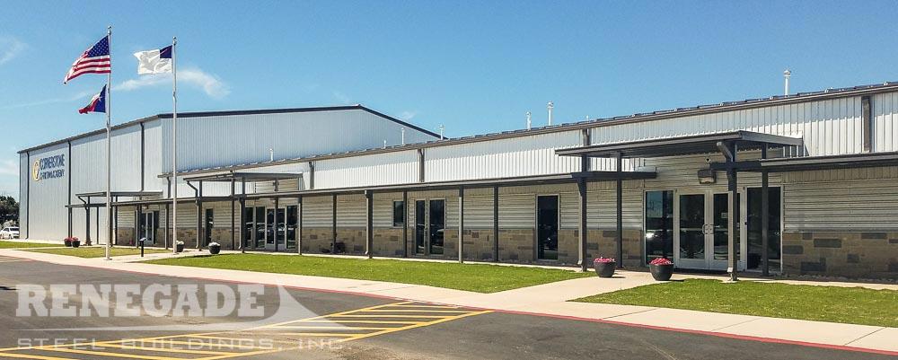 steel building christian school