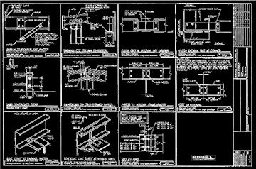 pre engineered steel building drawings