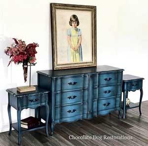 Chocolate Dog Restorations furniture