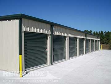 steel building self storage warehouse