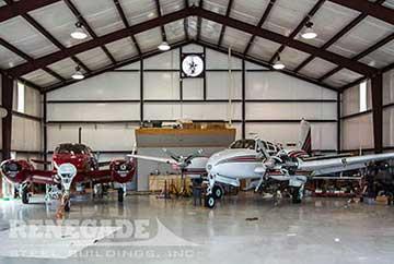 Steel Building Aircraft Hangar