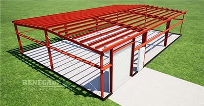 Steel Building standard framing