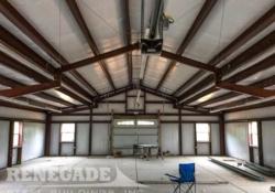 Steel Building Interior