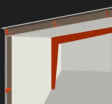 Metal building insulation hi r-value illustration