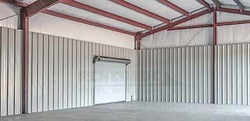 Renegade steel building interior liner panels