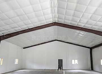 Hi R-value steel building liner system insulation